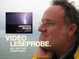 Video-Leseprobe zum Buch GEWITTERSEGELN