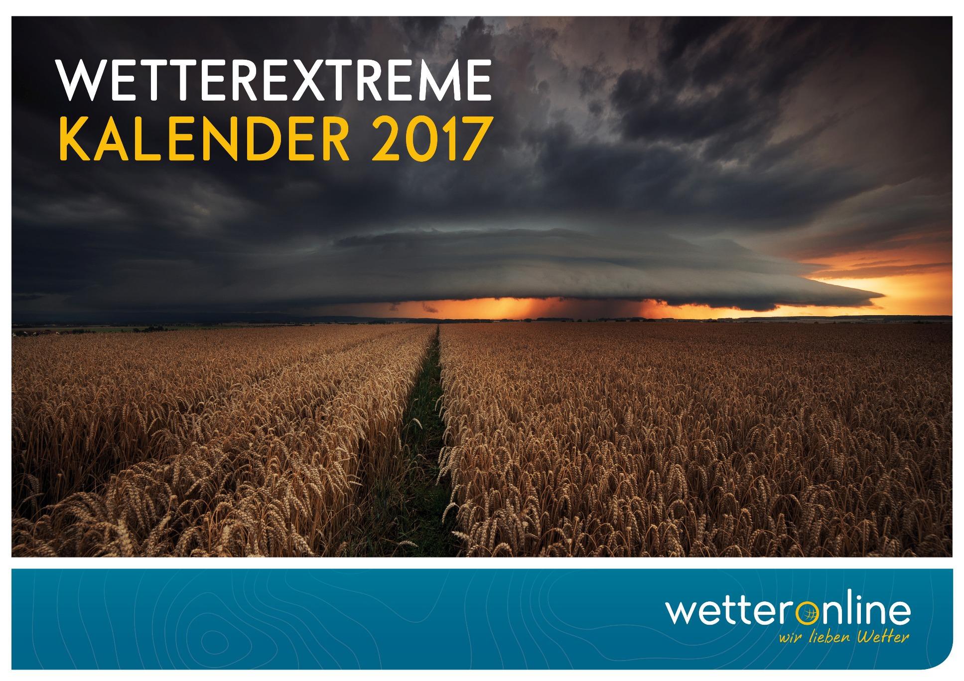 Der WetterOnline Kalender Wetterextreme 2017