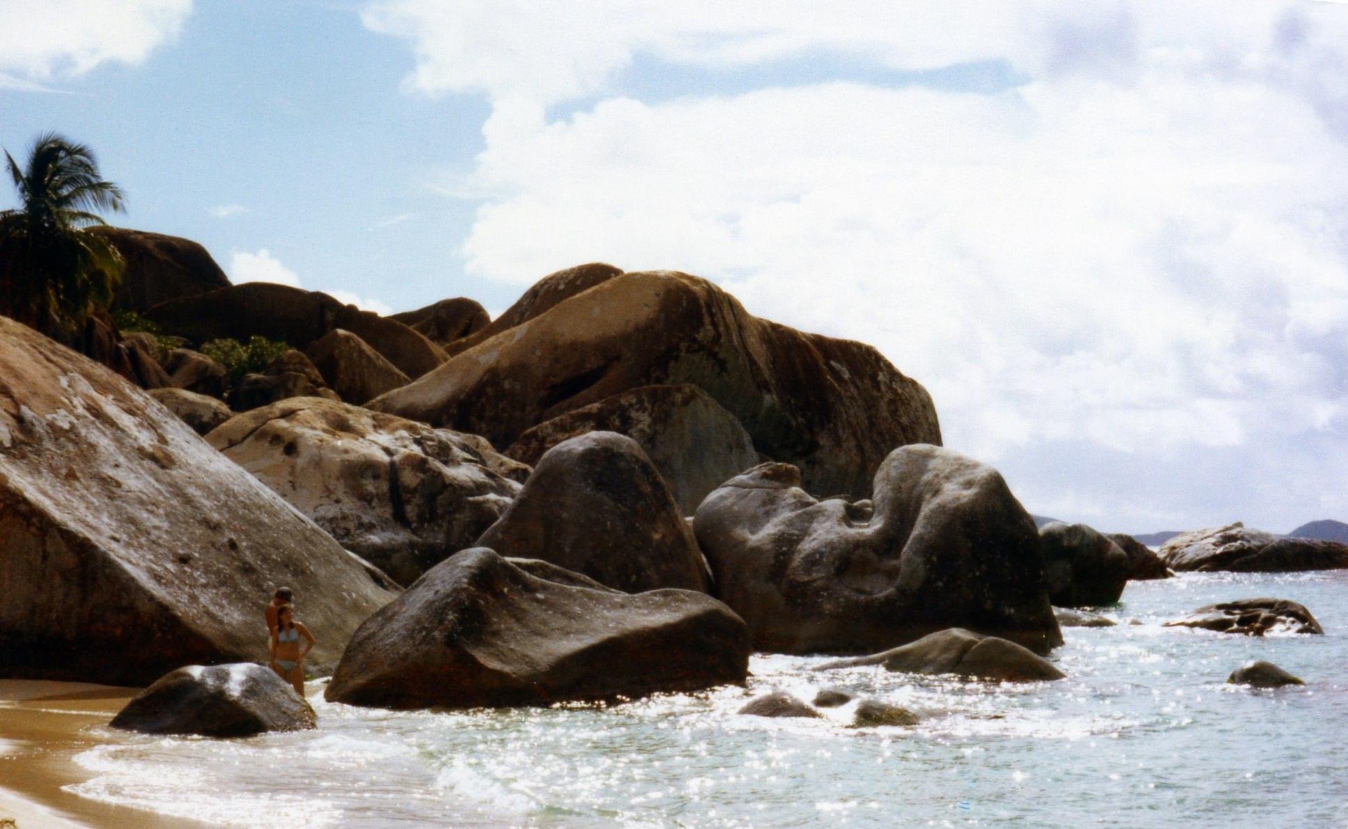 Foto von einer Segeltour an die Baths - Virgin Gorda