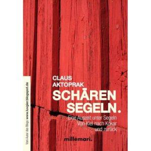 Schären Segeln: Das Cover des Buchs für den WooCommerce Onlineshop