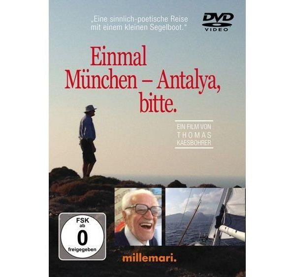 Das Cover des Films: Einmal München Antalya, bitte für den WooCommerce Onlineshop